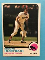 1973 Topps Brooks Robinson Card #90 Baltimore Orioles HOF
