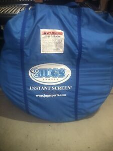 JUGS Instant Screen Net for Baseball/Softball/Hitting Backstop/Golf Portable