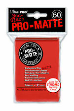 1 box 600 Ultra Pro-Matte Peach Deck Protector Gaming Card Sleeves