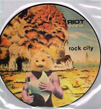 RIOT - ROCK CITY (VIP6510-P) PICTURE DISC LP