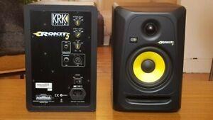 KRK Rokit 5 G3 Pair (With XLR Wires)