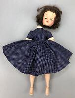 """Vintage Madame Alexander Elise 1950's Doll 16""""  Blue Dress PARTS OR REPAIR AA"""