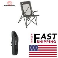 Coleman © Suspension Chair Outdoor Folding Seat Mesh Fabric Camping furniture