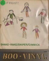 "ZEITGEIST Shake Rake 7"" VINYL UK Human 1981 3 Track B/W Gimmick And Sniper Vg"