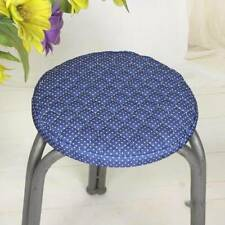 Round Garden Chair Cushion Pad Waterproof Outdoor Stool Patio Dining Seat Pad SA