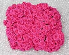 144 Diorröschen Satinröschen Rosen Hochzeit pink Stoffrosen Röschen 12 Bund