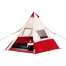 "7-Person Teepee Tent Ozark Trail 11'8"" x 11'8"" Camping & Hiking Outdoor"