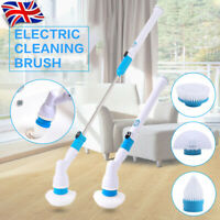 Electric Spin Scrubber POWERFUL Turbo Scrub Cleaning Brush Cordless Adjustable