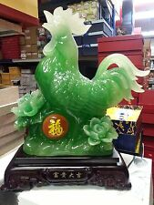 "Chinese Beautiful Lucky Animal Rooster statues 16""H"