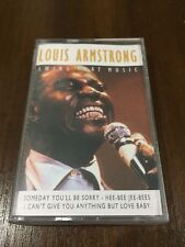 LOUIS ARMSTRONG SWING THAT MUSIC - MC K7 CASSETTE TAPE CINTA EN MUY BUEN ESTADO