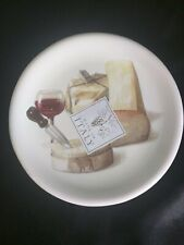 """Ceramisia Italy Plate Appetizer Cheese Bread Plate 6"""""""