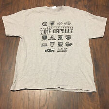 Worcester Bravehearts Worcester Time Capsule Vintage Sports Logo T-Shirt Size XL