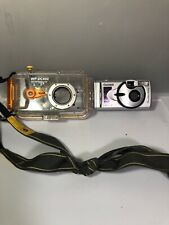 Canon A200 Digital Camera With WP-DC400 Waterproof Case