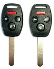 2 For Honda Accord Keyless Entry Remote Car Key For OUCG8D-380H-A With Chip US