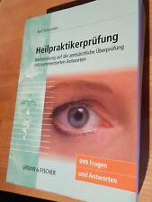 Heilpraktikerprüfung 999 Fragen Prüfungstraining für Heilpraktiker Fachbuch Buch
