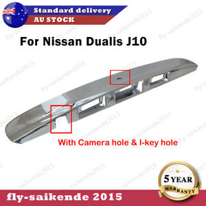 For Nissan Dualis Tailgate Door Handle Garnish Cover Chrome 2007-2013 Brand New