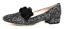 Kate Spade New York Gino Leather Loafer Silver Women Sz 9 M 5004
