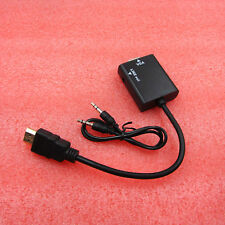 1080P HDMI Male to VGA Female Cable Video Converter Adapter HD Conversion