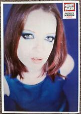SHIRLEY MANSON - Full page UK magazine poster GARBAGE