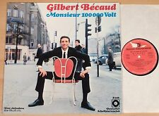 GILBERT BECAUD - Monsieur 100000 Volt  (DEUTSCHER SCHALLPLATTENCLUB 196x)