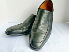 Magnanni Dominguez SPAIN Black Loafers size 10 D US 12655 Made In Spain EUC