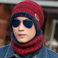 Winter Tactical Hat Beanie Fleece Warm Balaclava New Snood Scarf Neck Warmer Men