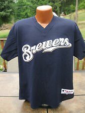 Authentic Game Used MILWAUKEE BREWERS Spring Training Game Jersey #69 LASCHEN