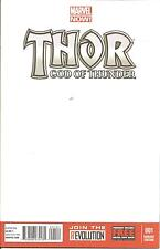 Thor God Of Thunder   #1   Blank Cover  Marvel Now
