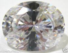 6.00 x 8.00 mm 1.25 ct OVAL Cut Sim Diamond, Lab Diamond WITH LIFETIME WARRANTY