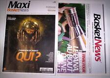 MAXI BASKET NEWS N°8 AOUT 2009 + SUPPLEMENT