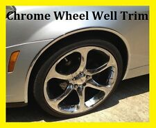 CHROME WHEEL WELL FENDER TRIM MOLDING- 4 PIECE D.I.Y. KIT - WARRANTY #014HO