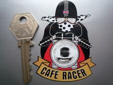 Cafe Racer Pudding cuenca Motor Ciclo Moto Adhesivo