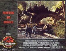 LOST WORLD: JURASSIC PARK (1997) Lobby Card SET OF 8 Spielberg + STAN WINSTON FX
