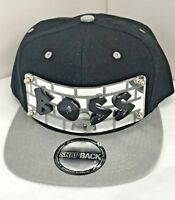 Personalized Custom Snapback Hat Six Panel Flat Bill Snap Back Hat Cap BOSS Hat