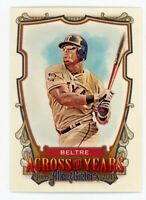 2013 Topps Allen Ginter #ATY-AB ADRIAN BELTRE Texas Rangers ACROSS THE YEARS