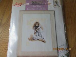 Lanarte Sara Moon Romantic Cross Stitch Kit