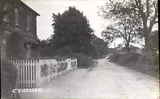 More details for great eversden. house at left.