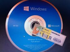 Microsoft Windows 10 Home 64 Bit ,DVD,Deutsch Vollversion Key Aktivierung OEM
