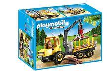 Playmobil 6813 pays forestiers grumier avec grue