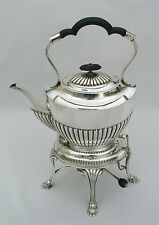 ALEX ALEXANDER CLARK WELBECK TIPPING TILTING TEAPOT - QUADRUPLE PLATE - LONDON