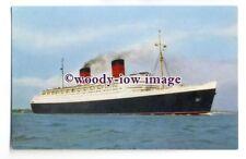 LS0446 - Cunard Liner - Queen Elizabeth - postcard