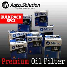Oil Filter Z596 Fits JEEP CHEROKEE WRANGLER MAZDA TRIBUTE VW TRANSPORTER 3PCS