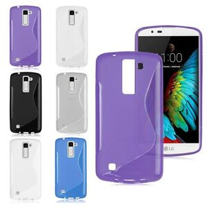 S-Line Wave TPU Gel Silicone Soft Slim Back Case Cover For Various LG Phones