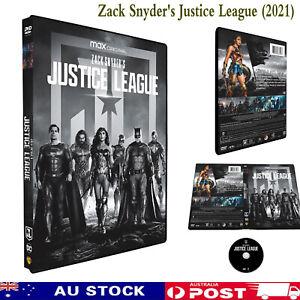 Justice League (Zack Snyder's) DVD REG 4 *NEW SEALED*