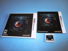 Resident Evil Revelations Nintendo 3DS XL 2DS Game w/Case & Manual