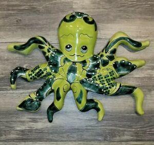 Mexican Talavera Octopus Wall Decor     Art - Glazed Hand painted 16 × 13.5