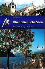 REISEFÜHRER OBERITALIENISCHE SEEN Lago Maggiore GARDASEE Michael Müller Verlag
