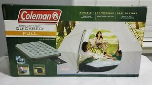 Coleman Air Mattress NEW QuickBed Single High Air Bed, Full, With Pump