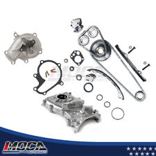 Timing Chain+Oil Pump+Water Pump Kit for 1998-2001 Nissan Altima 2.4L KA24DE