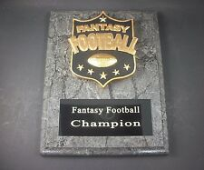 "Fantasy Football 7"" x  9""   Plaque Trophy. Free Engraving."